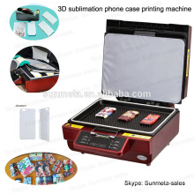 Sunmeta 3D Sublimation Telefon Fall Heat Press Machines